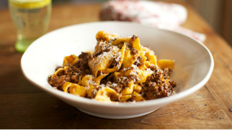 Classic Ragu Bolognese Pasta Sauce recipe by The Chiappas