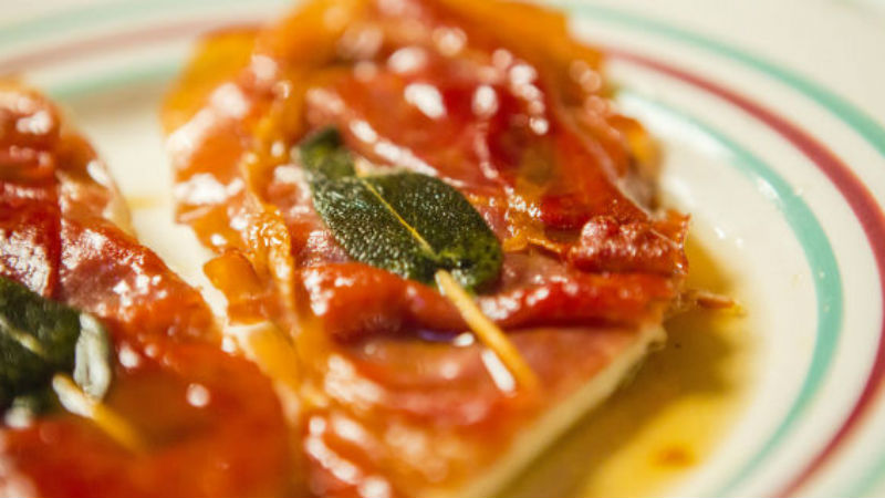 Easy Saltimbocca alla Romana with chicken, prosciutto and sage recipe by the chiappas