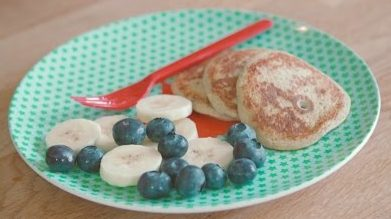 Two Ingredient Pancakes recipe by The Chiappas
