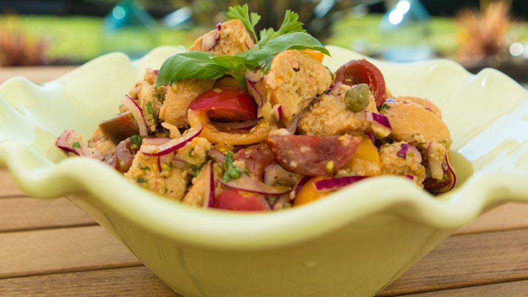 Panzanella Salad recipe by The Chiappas