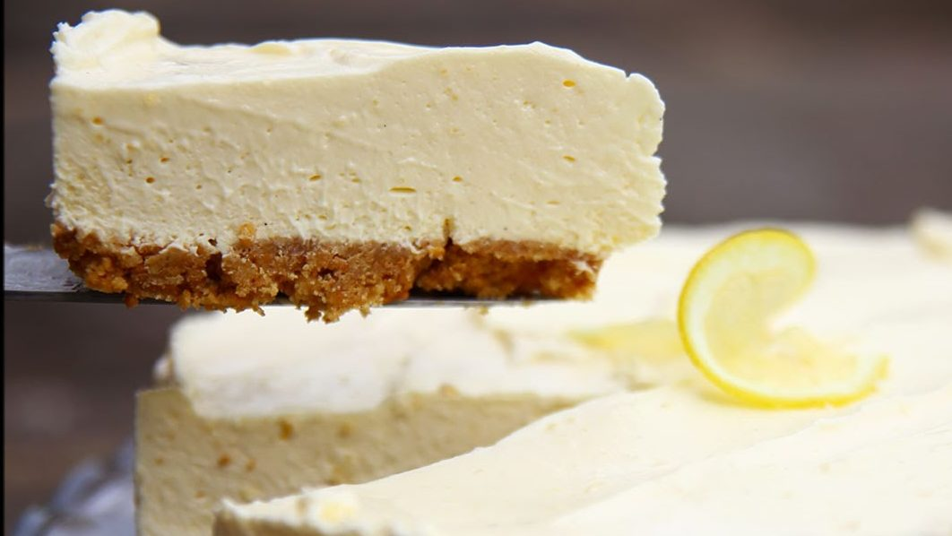 No-Bake Limoncello Cheesecake recipe by The Chiapps