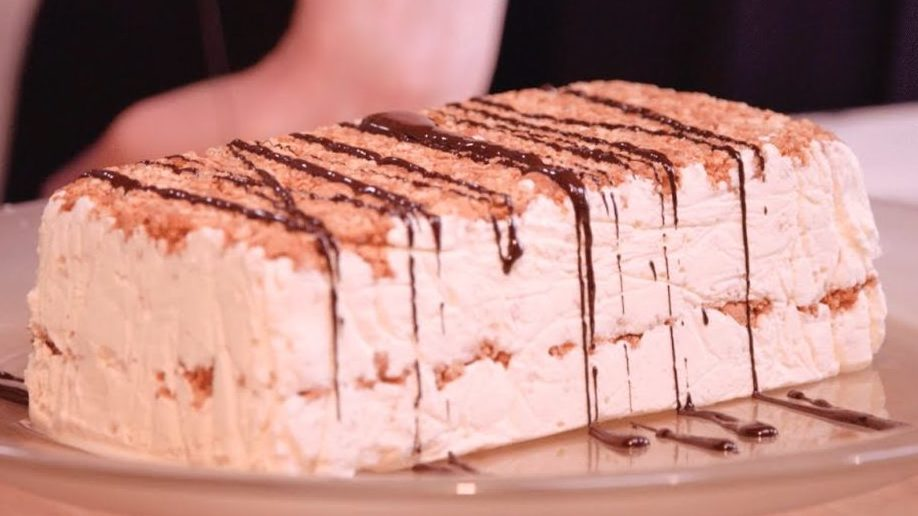 Amaretto Semifreddo recipe by The Chiappas